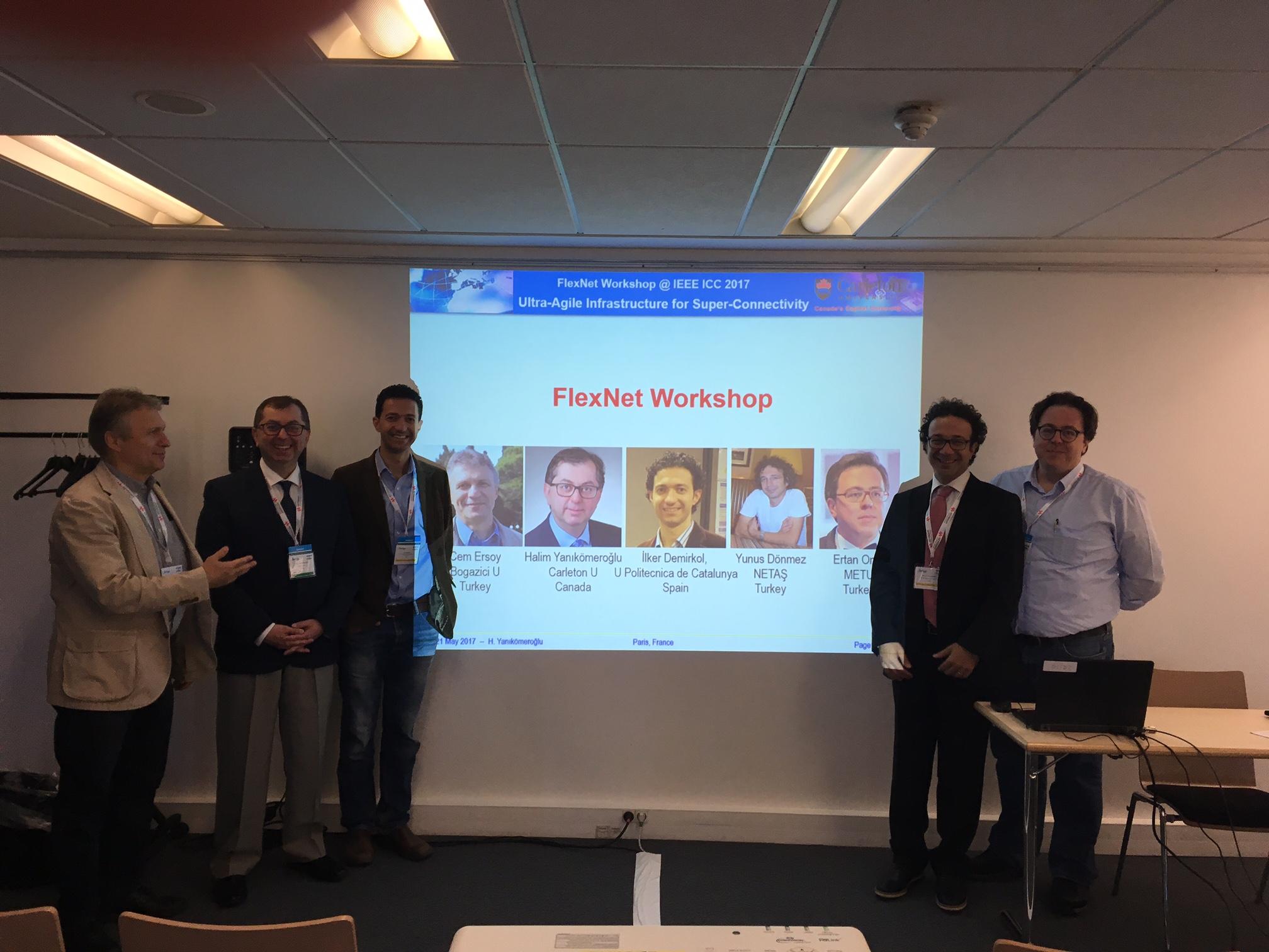 IEEE ICC Workshop on Flexible Networks (FlexNets) | Wireless Systems